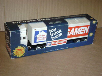 Pergament Toy Truck Bank