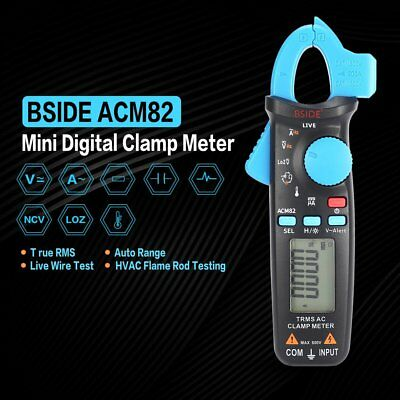 1* Digital Clamp Multimeter Amp Meter AC Current DC Voltage Volt Tester Probe GA