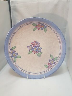 VERY PRETTY CROWN DUCAL TUBE LINED WALL CHARGER CHARLOTTE RHEAD STYLE 32.5cm