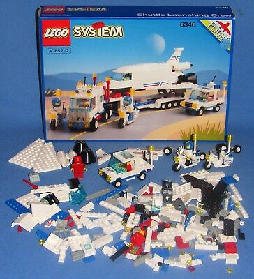 1992 Lego System 6346 Space Shuttle Set With Box And Instructions