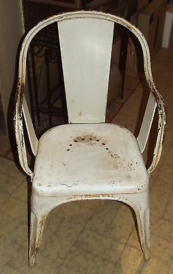 Rare Ancienne Chaise Fauteuil Original TOLIX AUTUN VintageFrench Antique Chair