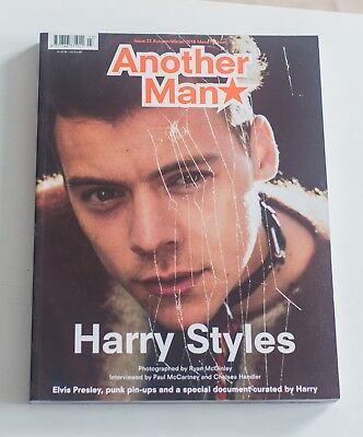 RARE - ANOTHER MAN Magazine  HARRY STYLES Ryan McGinley mit Poster NEARMINT NEW