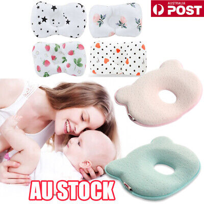 Baby Infant Cot Pillow Preventing Flat Head Neck Syndrome for newborn Girl Boy G