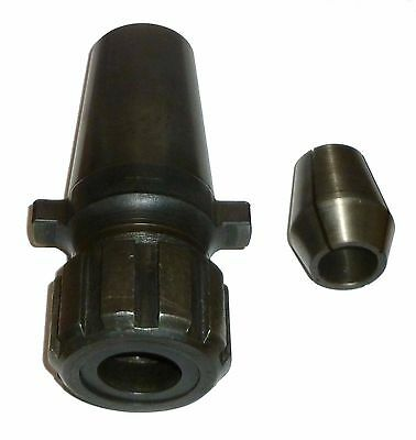 """Universal Kwik Switch 400 Zz Double Taper Collet Chuck W/ 7/8"""" Collet"""
