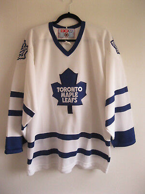TORONTO MAPLE LEAFS | Men's Retro CCM Official NHL Ice Hockey Jersey | Size L