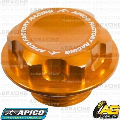 Apico Orange Headstock Steering Stem Nut For Husqvarna FC 250 2018