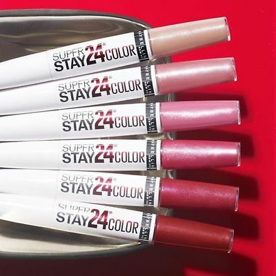 Maybelline 24H Superstay Lip Color - Various Colours