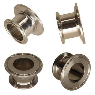 """HFS (R) 1.5"""" x 2"""" Sanitary Concentric Reducer - Tri Clamp Clover Stainless Steel"""
