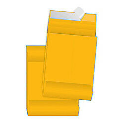 "Quality Park Redi-Strip Expansion Envelopes, 10"" x 13"" x 2"", 40 Lb, Kraft, 25-Pk"