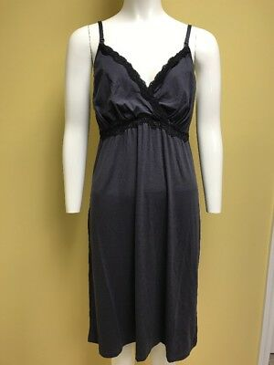 Gilligan & O'malley Sleepwear Gray Nursing/maternity Night Gown NWOT Size XL