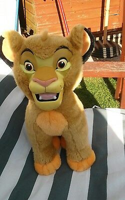 Vintage Disney The Lion King Simba With Hard Face