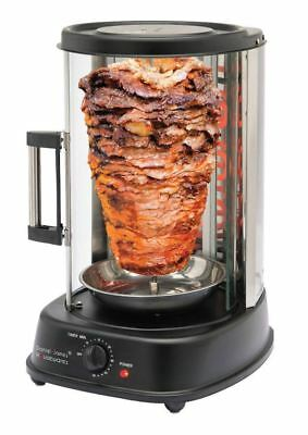 New Doner Kebab Machine Chicken Meat Vertical Grill Burner Bbq Gyro Rotisserie