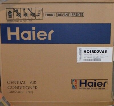 Haier 1 1/2 Ton R-410A Split System Air Conditioners 13 SEER 1.5 Ton HC18D2VAE