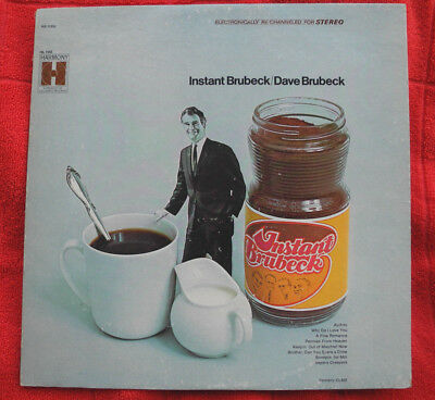 Dave Brubeck - Instant Brubeck // LP- US-Pressung (Re-Issue von 1968 )