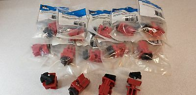 Lot of (10) Ideal 44-783 Universal Multi-Pole Breaker Lockout