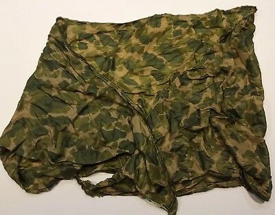 WWII Pattern U.S. ARMY PARACHUTE CAMO TYPE SCARF FOR PARATROOPERS D-DAY Med