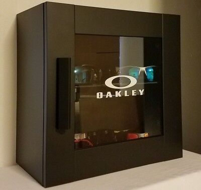LED Oakley Sunglasses Display Case Stand Counter Top - Closed Door