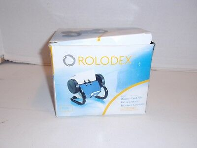 New Open Box Rolodex 66700 Rotary Contact Card File A-Z Index Tabs & 250 Cards