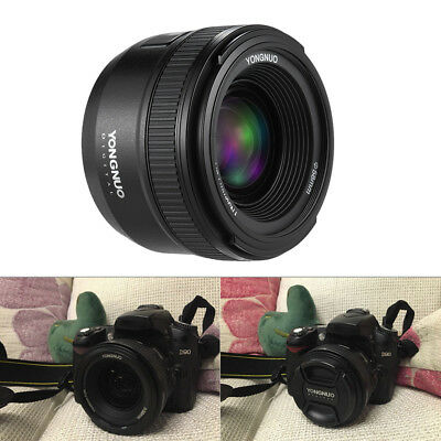 YONGNUO YN 35mm f/2 Lens Wide-Angle Fixed Auto Focus Lens for Nikon