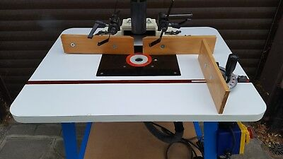 Router table 5100 picclick uk axminster router table top on stand with router greentooth Gallery