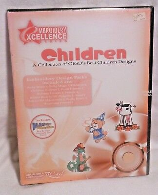 Oesd Embroidery Excellence Children Embroidery Designs Multi Format