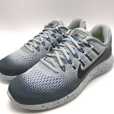 lowest price 057aa 7dd7e Nike Lunarglide 8 Shield Mens Running Wolf GreyBlack-Cool Grey 849568-002