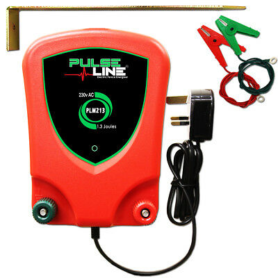 Electric Fence Energiser Mains Powered PLM213 1.3J