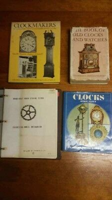 Clocks, Reference Books, Pictures to help Identify Clocks, Books in decent shape