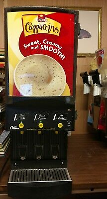Curtis Primo Cappuccino Machine with 3 Hoppers