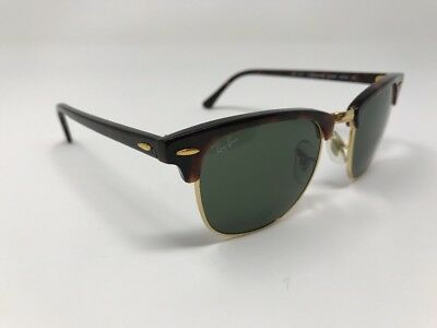 1baf7d753e5b Ray Ban Clubmaster Sunglasses RB3016 W0366   Tortoise With Green 49mm U256