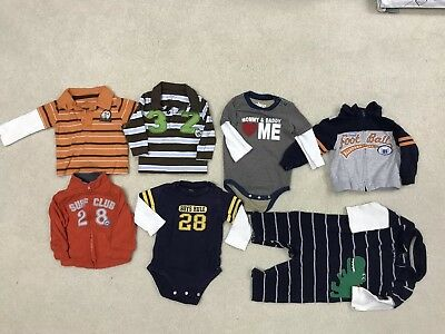 20 piece baby boy 9-12 months lot for Fall/Winter