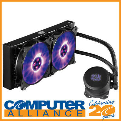 Cooler Master MasterLiquid ML240L RGB Liquid CPU Cooler MLW-D24M-A20PC-R1