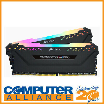 16GB DDR4 Corsair (2x8GB) CMW16GX4M2C3000C15 3000MHz Vengeance RGB Pro Ram Kit B