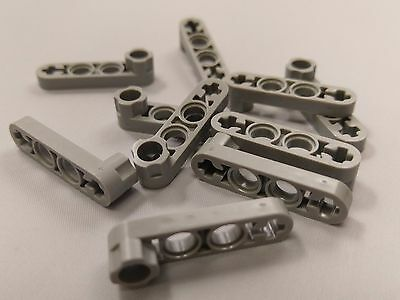4x4 Light midstone grey Frame bricks Lego Technic 2 x Frames pt 32324