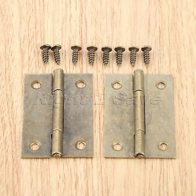 Vintage Furniture Door Hinges Kitchen Cupboard Wardrobe Cabinet Hinges Hardware