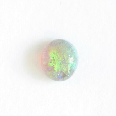 Black Crystal Opal 0.81Ct Natural Solid Loose Lightning Ridge Australia Cabochon