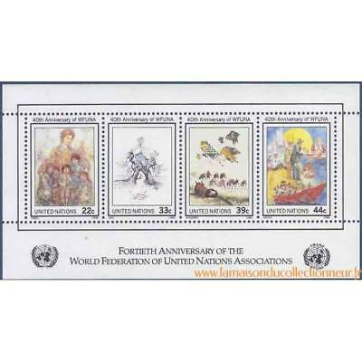 Timbre collection ONU New-York N° Yvert et Tellier BF 9 Neuf sans charnière