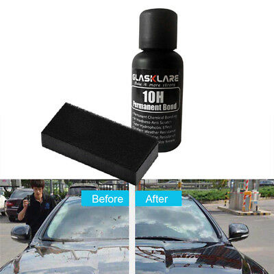 30mL 10H Hydrophobic Anti-scratch Car Care Glass Coating Liquid Ceramic Coat Wax