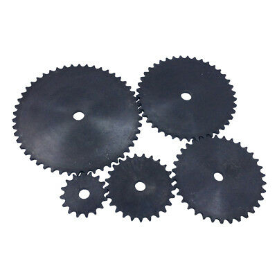 "#40 Chain Sprocket A Type Plain Film Pitch 1/2"" for #40 Roller Chain GO Kart"
