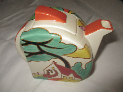 """Clarice Cliff pottery Teekanne """"apples blossom"""""""