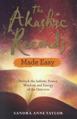 The Akashic Records Made Easy by Sandra Anne Taylor NEW
