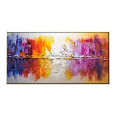 Modern Hand-Painted Oil Painting Abstract Scenery Art Home Decor Canvas Art Wall