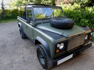 1985 Land Rover Defender Soft Top 1985 Land Rover Defender Ex Mod 110 Soft Top