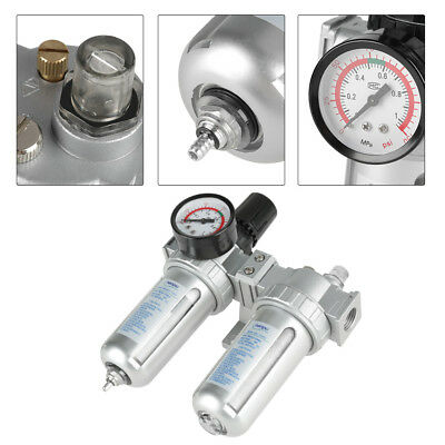 Air Compressor Water Filter With Regulator Water Trap G1/2 Air Tool Cleaning wtt