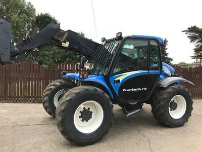 New Holland Lm435A Tele Handler ( Year 2005 ) Reduced