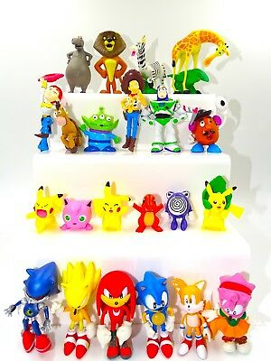 Toy Story Pokemon Cake Toppers Party Bag Filler Decoration Sonic Avengers