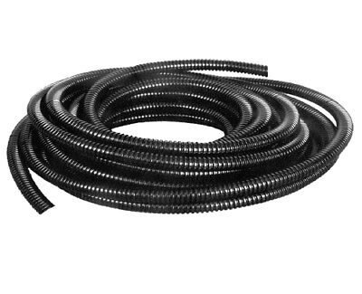 Harnessflex Black Convoluted Split Conduit Cable Tidy flexible Tubing Trunking