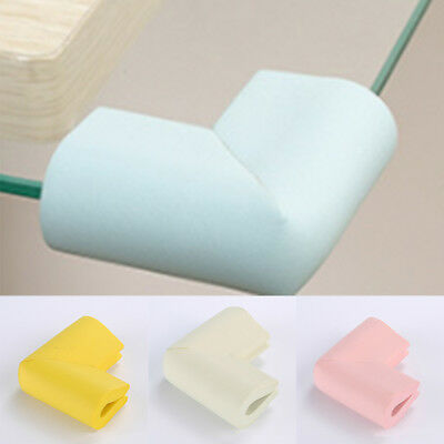 8X Rubber Soft Kid Child Baby Safety Cushion Protector Table Corner Edge Guard
