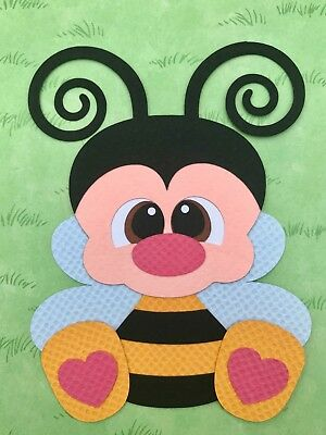 BEE fully assembled paper piecing / die cut