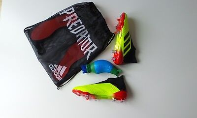 adidas predator size 10 - Solar Yellow - Brand New - Comes with free boot buddy